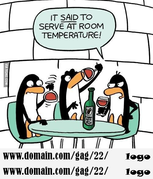 It does not matter what temperature the room is it is always room temperature